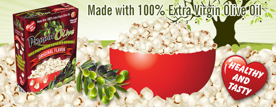 Poppin Olive - The Popcorn Lovers Healthy Choice